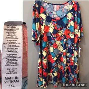 3XL nightmare before Xmas LuLaRoe perfect tee BNWT